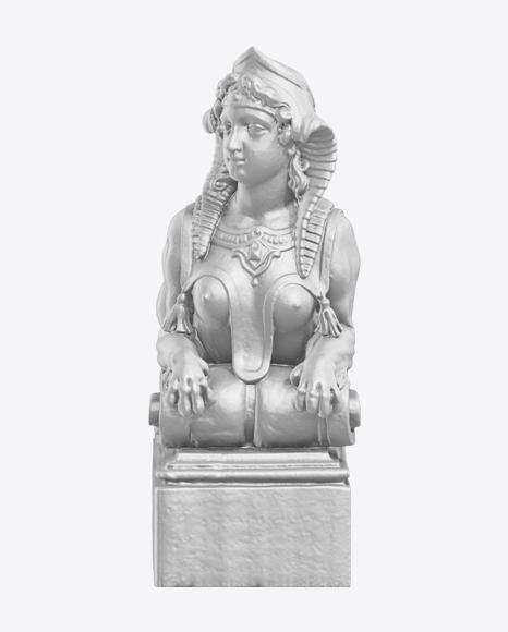 Woman Sphinx Sculpture