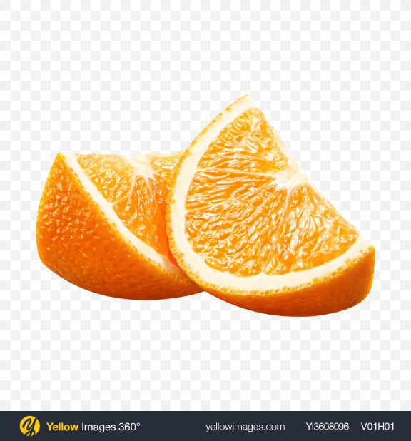 Download Orange Slices Transparent PNG on YELLOW Images