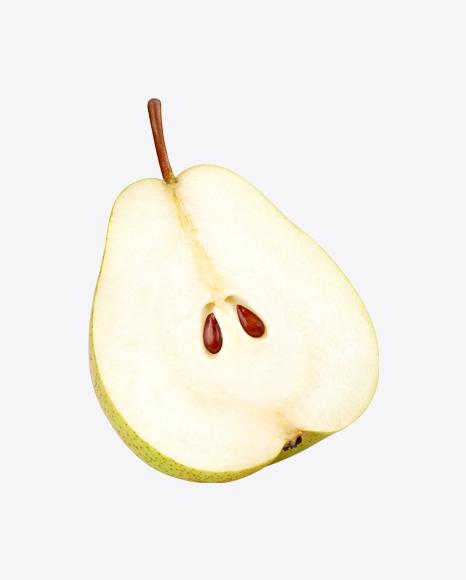 Half of Pear