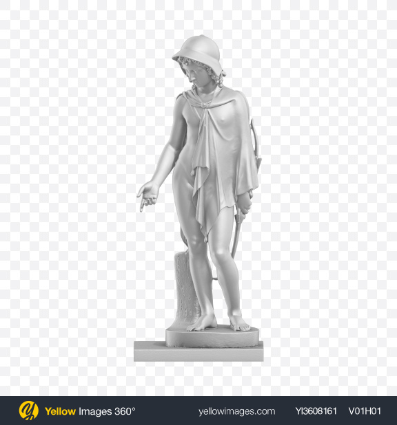 Download Male Sculpture Transparent PNG on YELLOW Images