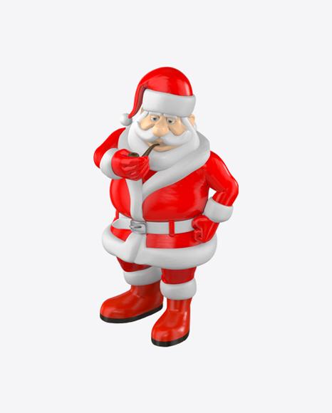 Plastic Santa Claus Toy