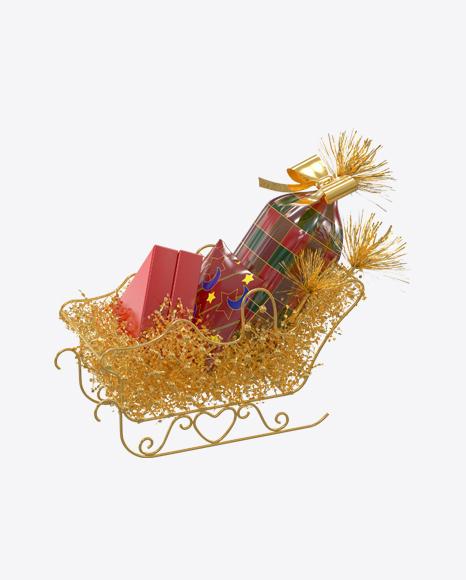 Christmas Sleigh with Gifts