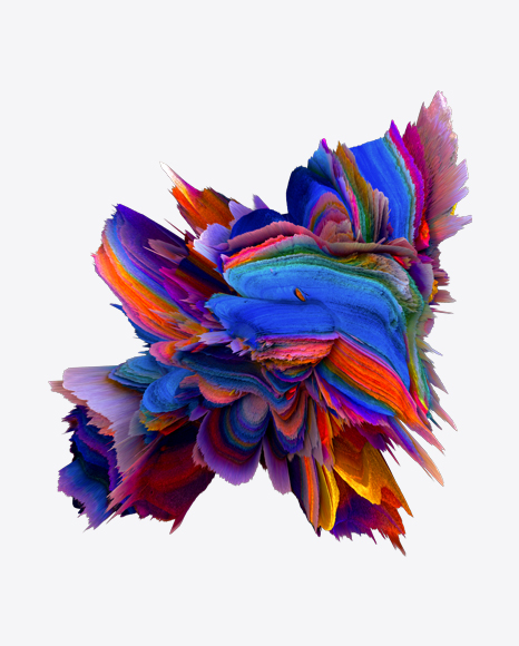 Colored Abstract Object
