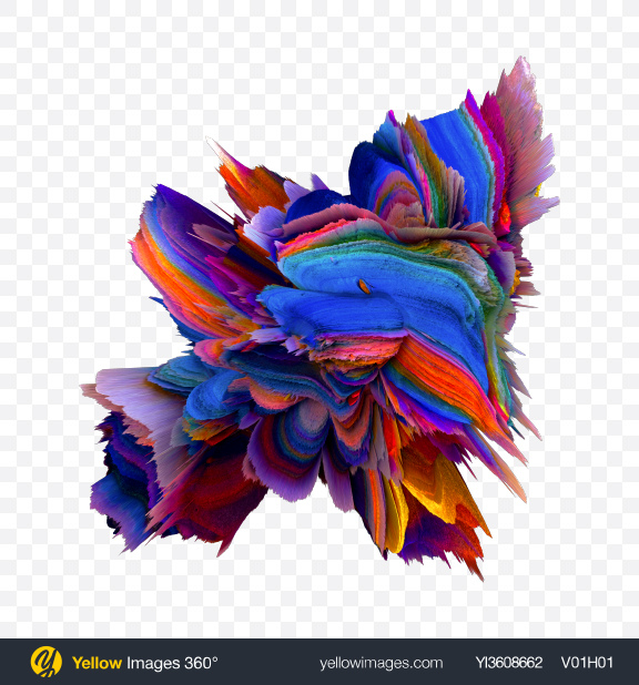 Download Colored Abstract Object Transparent PNG on YELLOW Images