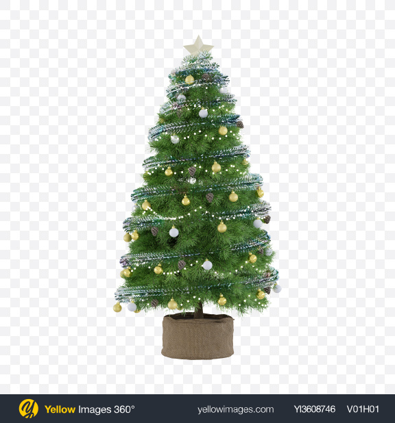 Download Decorated Christmas Tree Transparent PNG on PNG Images