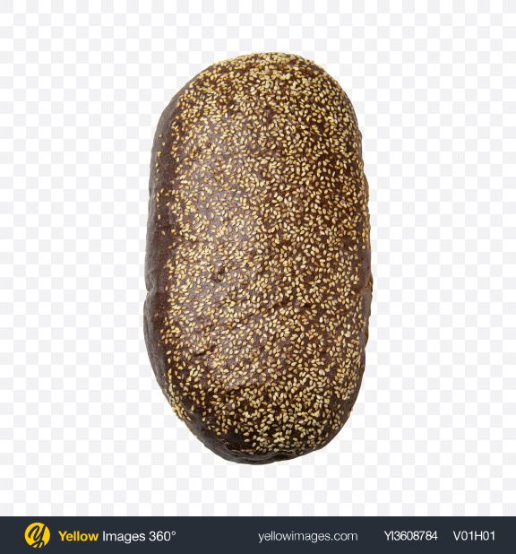 Download Rye Bread with Sesame Seeds Transparent PNG on PNG Images