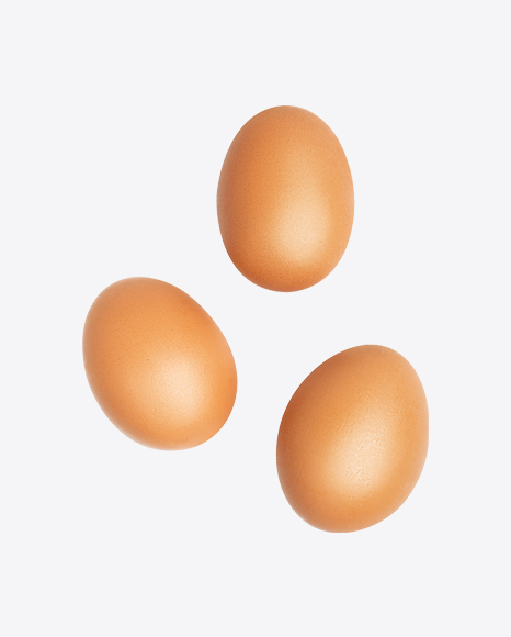 Three Chicken Eggs