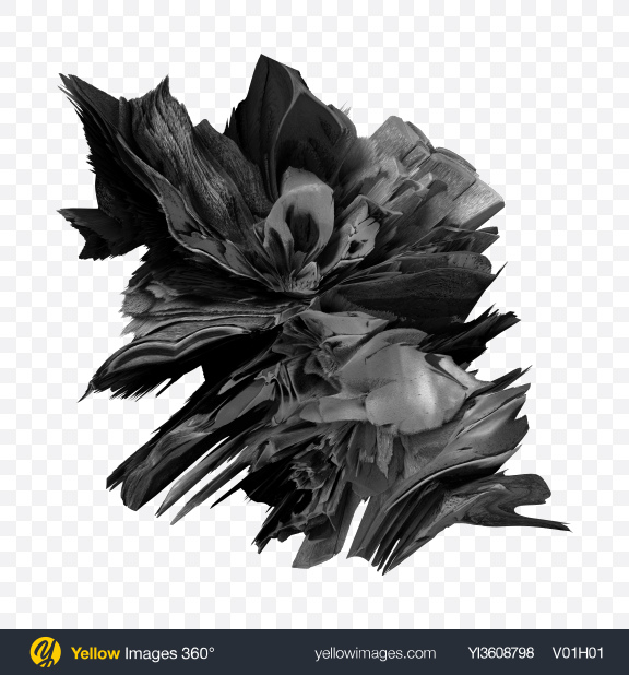 Download Gray Abstract Object Transparent PNG on YELLOW Images