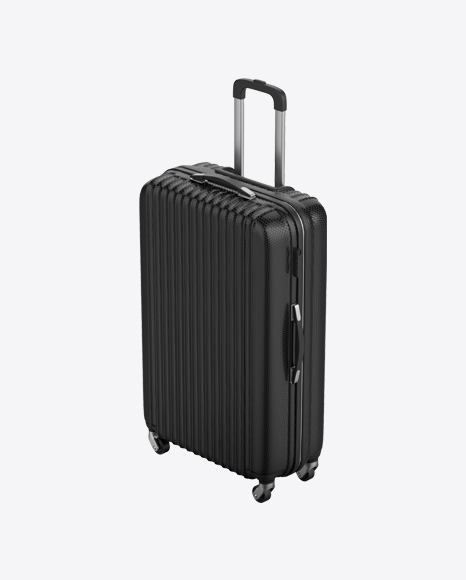 Black Rolling Suitcase