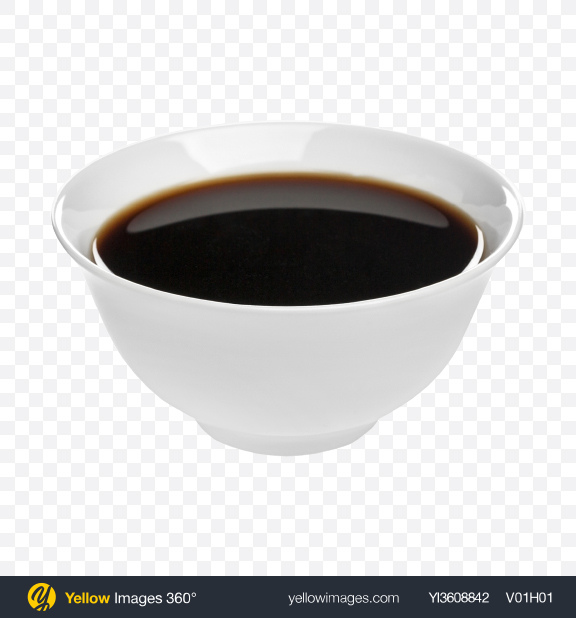 Download Soy Sauce in Ceramic Bowl Transparent PNG on PNG Images