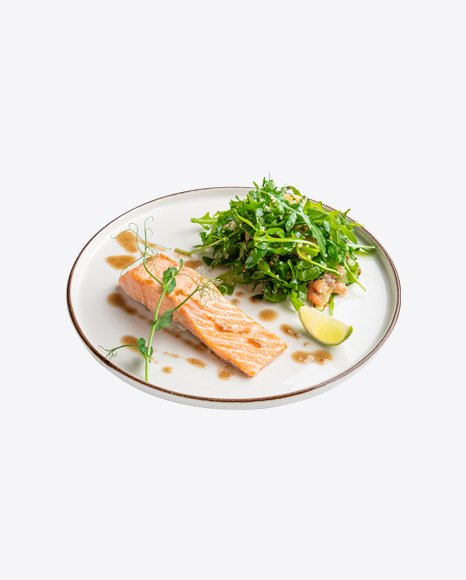 Salmon w/ Ruccola Salad