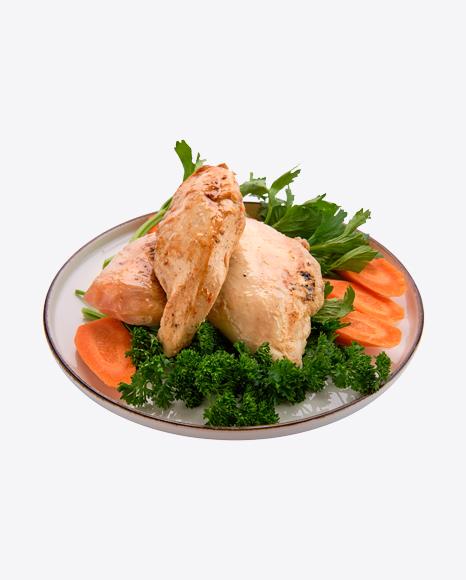 Fried Chicken Fillet w/ Vegetables