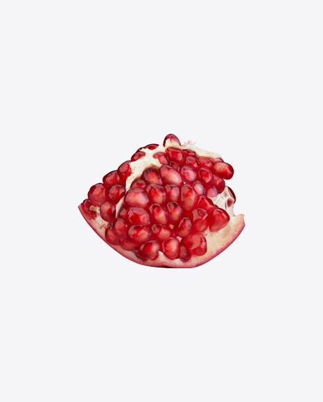 Pomegranate Piece