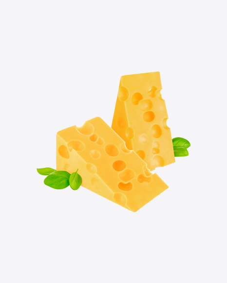 Maasdam Cheese Triangles w/ Greens