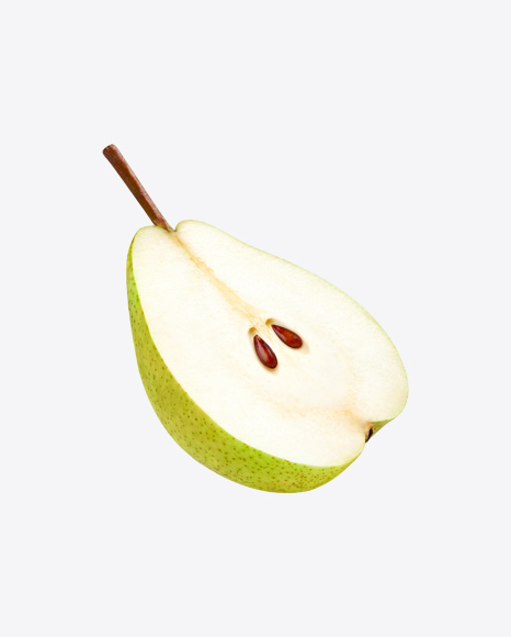 Green Pear Half
