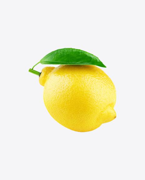 Lemon with Leaf