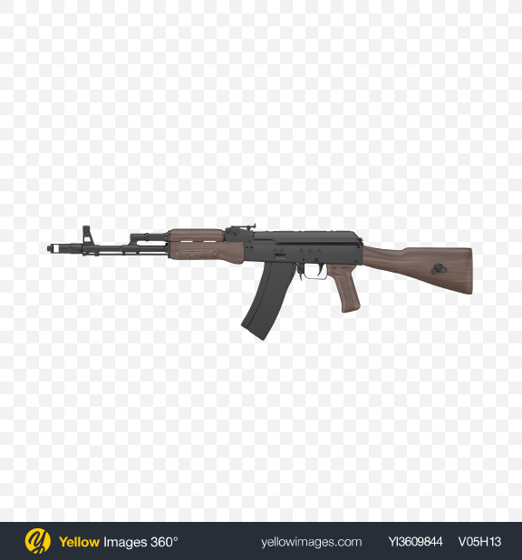 Download Assault Rifle Transparent PNG on YELLOW Images