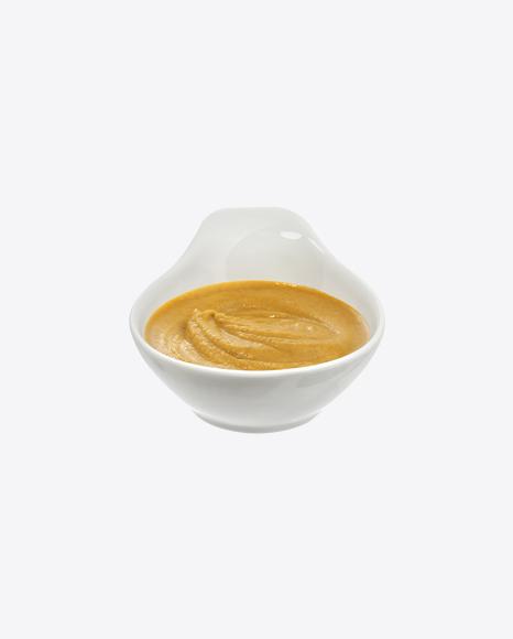 Mustard in Ceramic Bowl