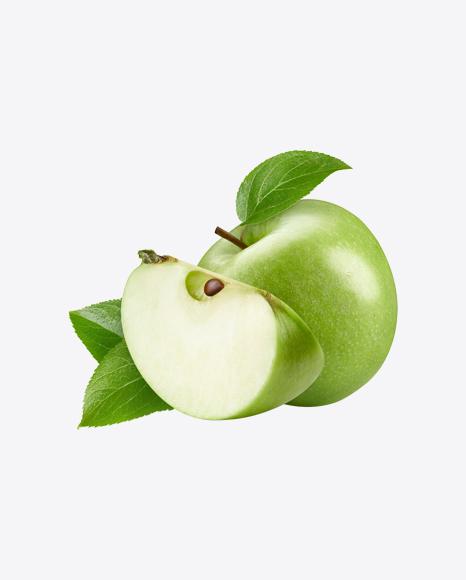 Green Apple w/ Slice