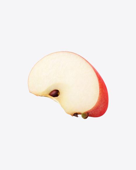 Red Apple Slice