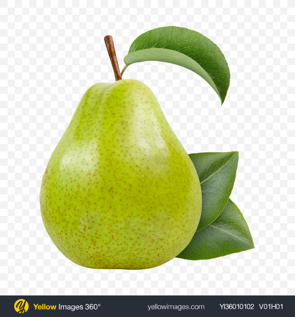 Download Green Pear Transparent PNG on YELLOW Images