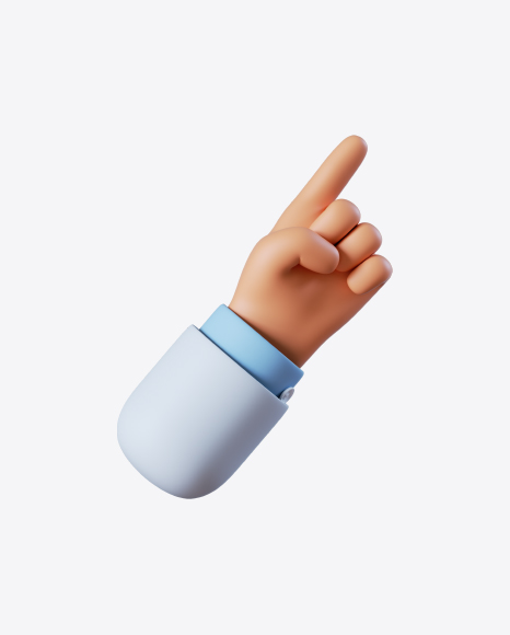 Doctor Hand Pointing Gesture