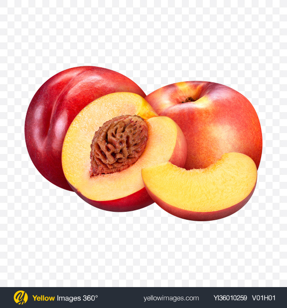 Download Nectatine Set Transparent PNG on YELLOW Images