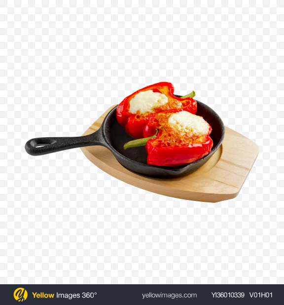 Download Stuffed Pepper Transparent PNG on YELLOW Images