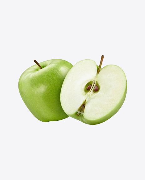 Green Apple w/ Half