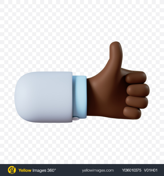 Download Doctor Hand Like Gesture Transparent PNG on YELLOW Images