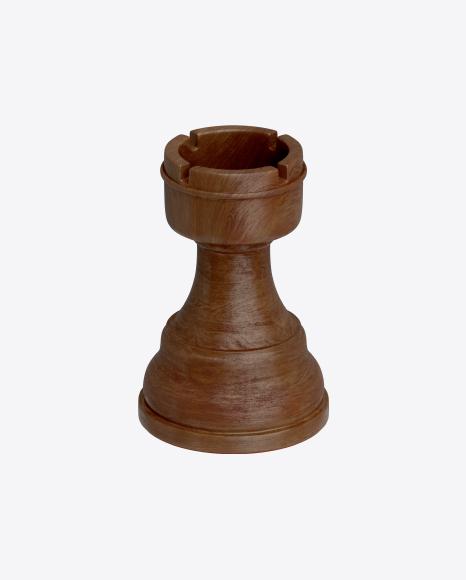 Chess Black Rook Piece