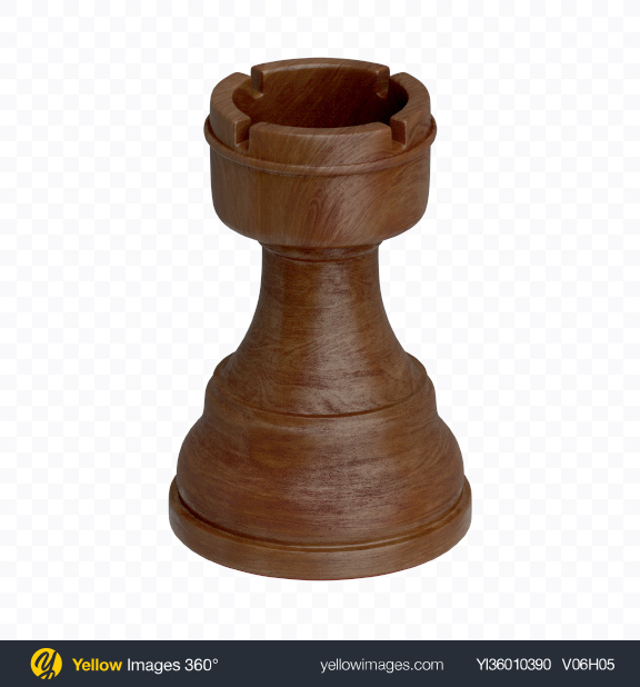 Download Chess Black Rook Piece Transparent PNG on YELLOW Images
