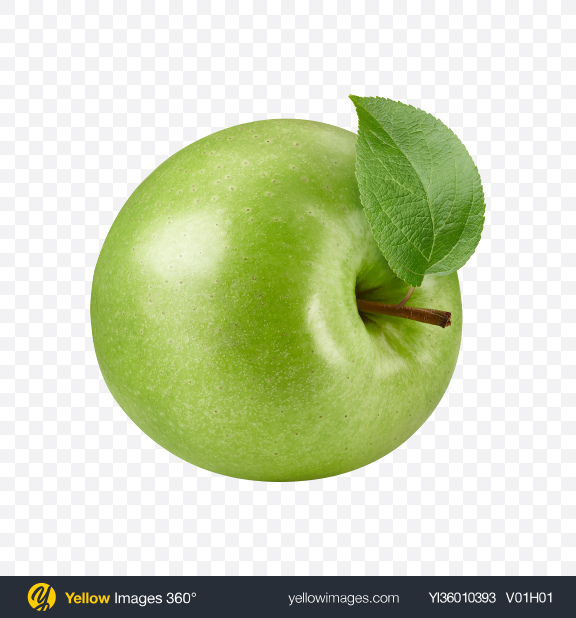 Download Green Apple Transparent PNG on YELLOW Images