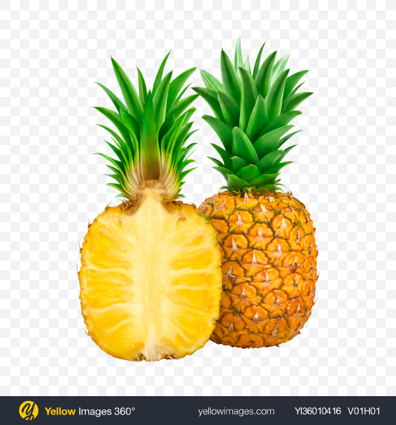 Download Pineapples Transparent PNG on YELLOW Images