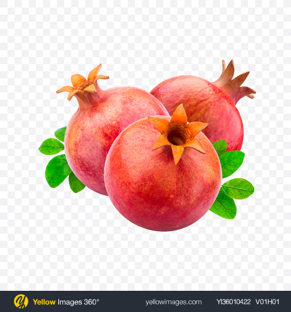 Download Pomegranates Transparent PNG on YELLOW Images