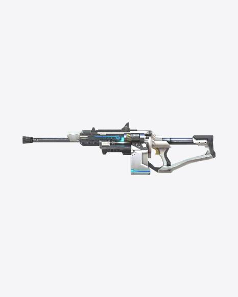 Futuristic Submachine Gun