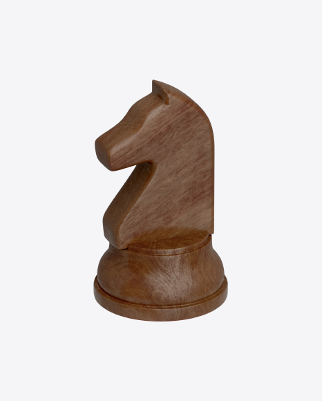 Chess Black Knight Piece