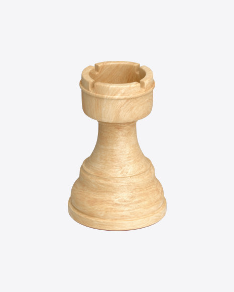 Chess White Rook Piece