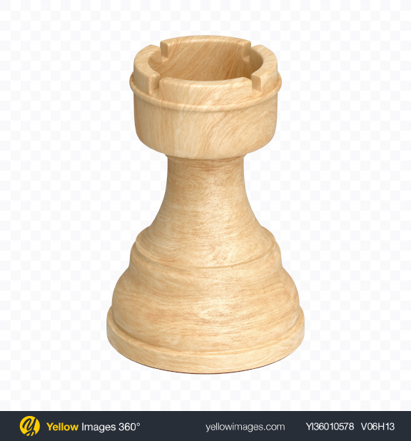 Download Chess White Rook Piece Transparent PNG on YELLOW Images