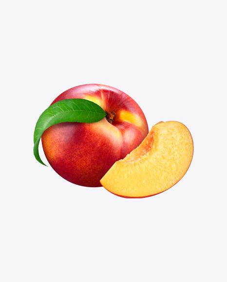 Whole Nectarine & Slice