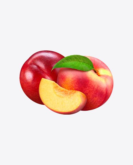 Two Nectarines & Slice