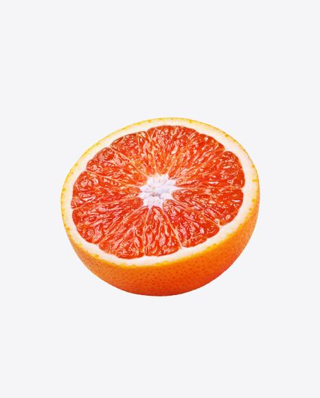 Half of Red Orange