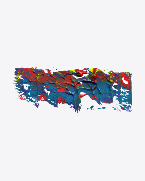Abstract Paint Shape