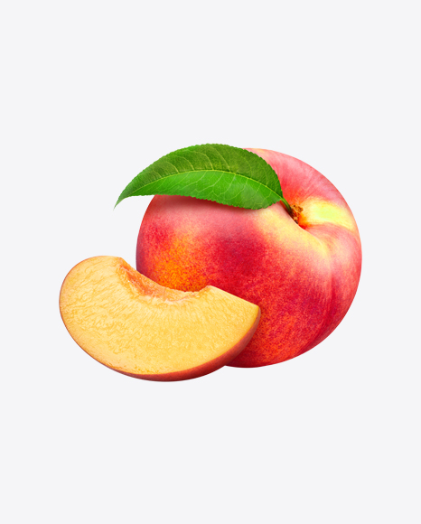Two Nectarines & Slices