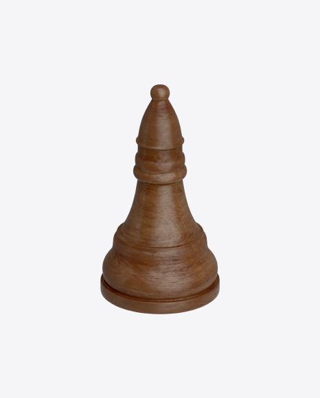 Chess Black Bishop Piece