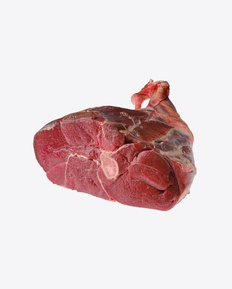 Raw Beef Leg