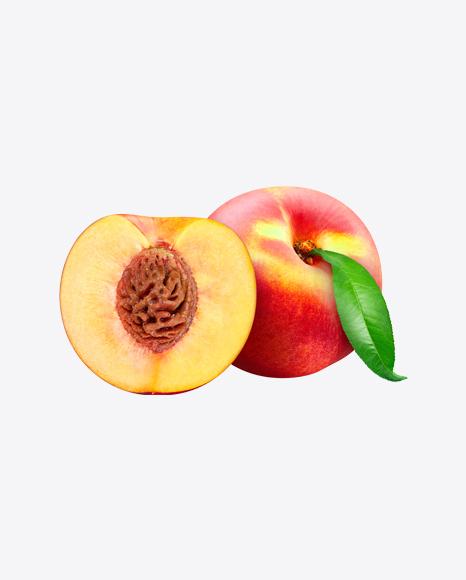 Whole Nectarine & Half