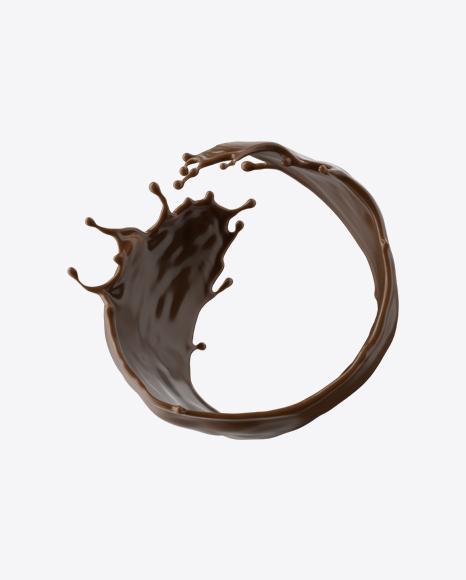 Chocolate Milk Splash