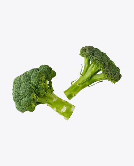 Two Heads of Broccoli