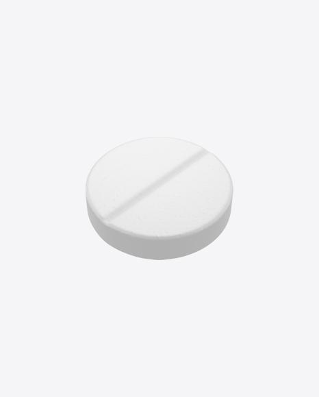 White Round Pill